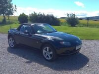 *PRICE LOWERED FOR QUICK SALE* 2007 Mazda MX5, 1.8l 55,000 miles. MOT to June 2018