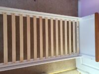 Mothercare Cot bed and mothercare mattress excellent condition