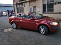 For Sale Renault Megane Pr-Lege Convertible 1.9 Diesel 130 bhp year 2005 LONG MOT.......!!!