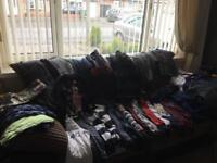 Bundle of boys clothes aged 8-9