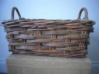 Whicker cane basket