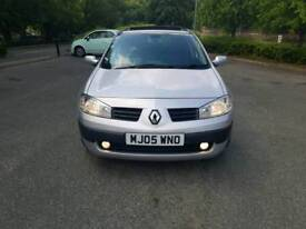 RENAULT MEGANE 1.6 PETEOL FULL 12 MONTHS MOT FULL SERVICE HISTORY LOW MILEAGE SUNROOF ONE OWNER