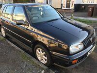Volkswagen Golf GL 1781cc Petrol Automatic 5 door hatchback P Reg 01/10/1996 Black