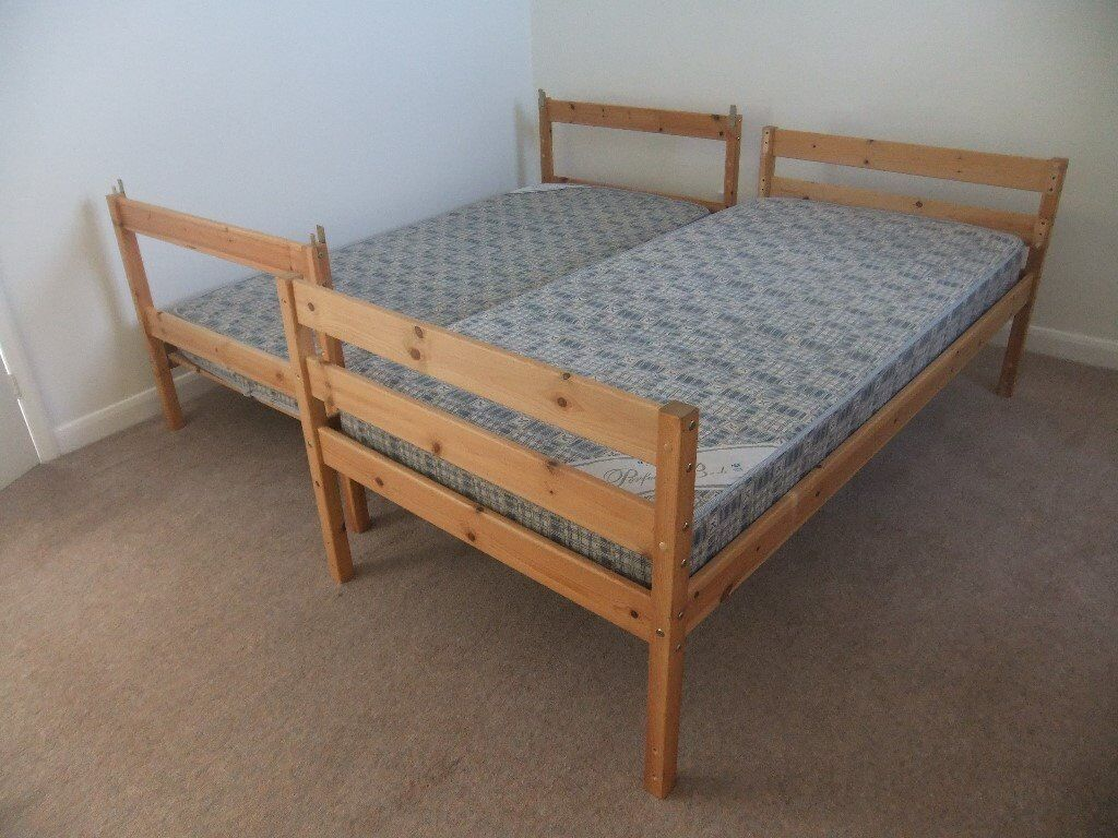 Bunk Beds Mattresses Can Be Separated Into Two Single Beds In