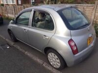 NISSAN MICRA AUTOMATIC 1.2 = AUTOMATIC, AVERAGE CONDITION - ( ANY OLD CAR PX WELCOME )