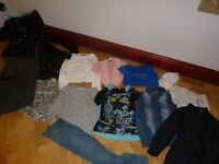 girls clothes from party to casual, some with tags