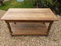 Vintage side table/desk