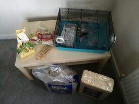 Hamster cage+ accessories