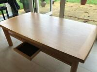 Skovby Coffee table with drawer and under shelf