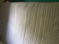IKEA double mattress few marks but useable. Has been steamed cleaned. Buyer collects.