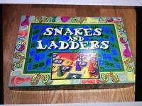 Luxury 'Snakes and Ladders' Family Board Game