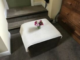 Foldable individual mattress/ use as table too