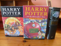 COMPLETE COLLECTORS HARDBACK BOOK SET OF HARRY POTTER