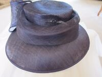 Deep purple ladies formal hat