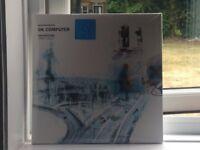 Limited edition OK Computer by Radiohead Blue Vinyl Triple album