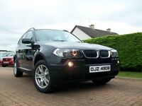 2004 BMW X3 2.0 DIESEL SE FULL LEATHER OUTSTANDING JEEP