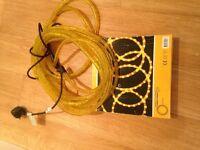 New yellow rope light