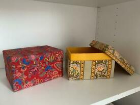 New fabric gift boxes