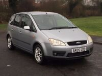 QUICK SALE WANTED! Ford Focus C-Max Zetec 1.6 Petrol Manual 5door
