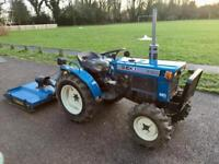 Iseki 4x4 Diesel tractor and topper completely re-Ferb New tires excellent