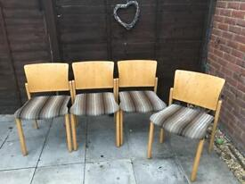 Kitchen chairs x 4