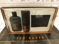 Brand New TED BAKER PIMLICO Mega Gift Set including Body Wash/ Spray & Bifold Wallet