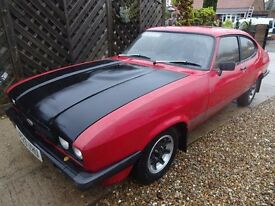 1984 A CAPRI 2.0 S 5 SPEED. ORIGINAL BILL OF SALE, S/HISTORY, ONLY 5 PREVIOUS OWNERS