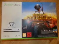 **SEALED** XBOX ONE S 1TB & PLAYERUNKNOWN'S BATTLEGROUNDS GAME PREVIEW EDITION