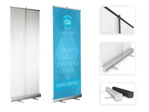 "Roll Up Banner Stand 33.5"" x 79"" high"