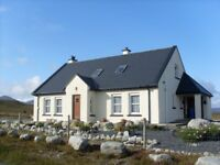 DERRYREEL Holiday Cottage near Dunfanaghy in Donegal ,Self Catering, available for New Year Break