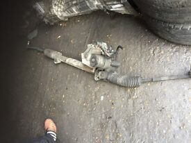 57 MERCEDES A CLASS STEERING RACK GOOD CONDITION AND TESTED