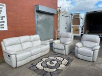 Grey lazy boy reclining sofa set delivery 🚚 sofa suite couch furniture