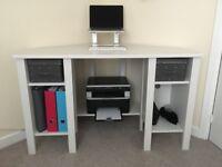 IKEA 'BRUSALI' Corner Desk - Very Good Condition