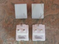 4 TP-Link connectors for 100MBs connectivity around the house