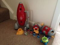 Large bundle of happyland toys, willing to sell separately on request.