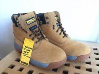 Dewalt Leather Apprentice Model Size 8 New Safety Boots