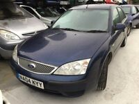 2004 FORD MONDEO LX 16V (AUTOMATIC PETROL)- FOR PARTS ONLY
