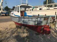 21ft Fishing Boat