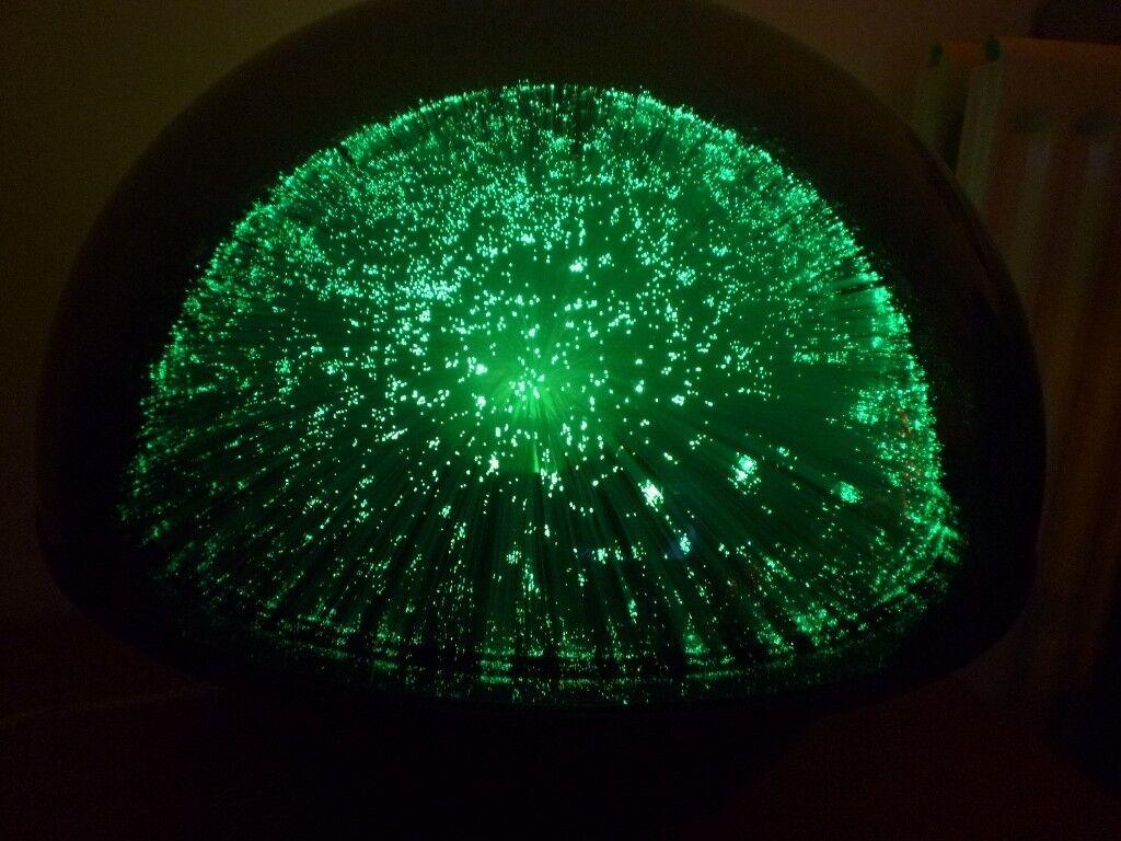 Crestworth Mathmos Galaxy Glass Fibre Optic Colour