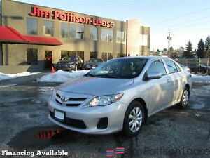 2013 Toyota Corolla w/bluetooth, heated seats
