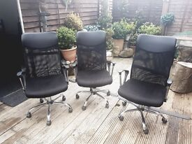 X3 MESH OFFICE CHAIRS (BARGIN)!
