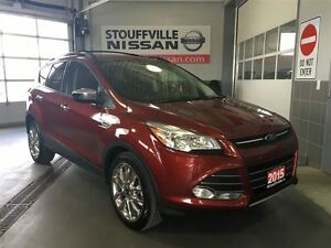 2015 Ford Escape SE Factory Nav, 2.0 Liter Ecoboost Chrome Alloy