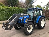2010 New Holland T5060 DELUXE c/w 740TL Loader