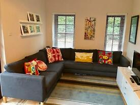 L shaped couch - Ikea
