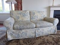 Three-Piece Suite (Armchair + Pair of Sofas) - Needs re-covering.