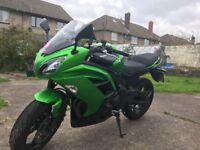 Kawasaki ER6F ABS Green 15plate 2015