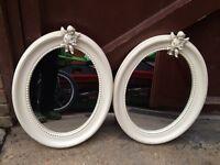 Mirrors x 2 with cherubs