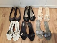 Various NEW sandals and shoes