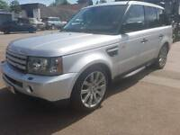 Range rover sport supercharged 2005 cheap tax full service history