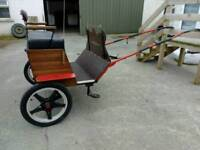 Swap road cart and harness